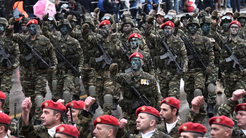 """""""Wir werden sie vernichten!"""" Griechenland droht NATO-Verbündetem Türkei im Streit um Ägäische Inseln"""