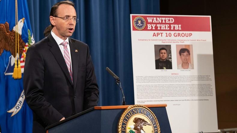 USA und Großbritannien werfen China Unterstützung einer Cyberspionage-Kampagne vor