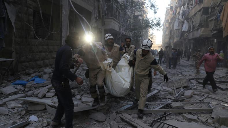 Organhändler, Terroristen und Plünderer: Beweise gegen Weißhelme bei der UNO vorgestellt