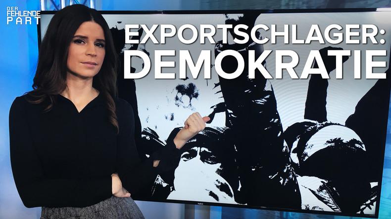"""Welt soll nach Amerikas Ebenbild neugestaltet werden"" – John J. Mearsheimer zum Demokratie-Export"