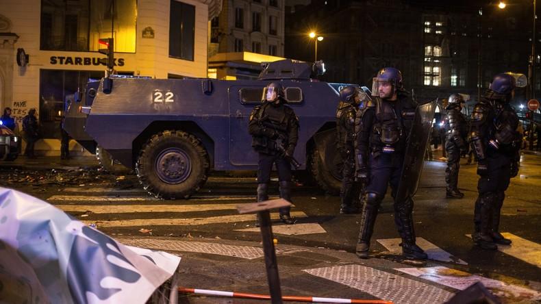 """""""Macron will uns kaufen"""": Polizeigewerkschaftler für gemeinsamen Arbeitskampf – auch mit Gelbwesten"""