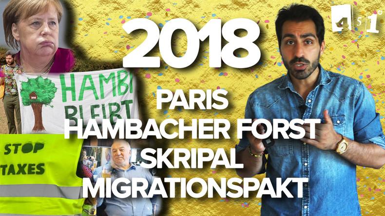 Abrechnung 2018 | Migrationspakt | Skripal | Medienschelte | 451 Grad | 79