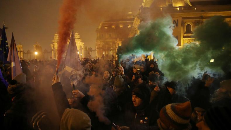 Erneut Tausende bei Protest gegen Regierung in Budapest