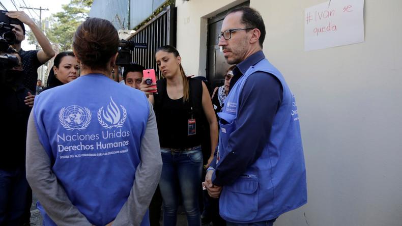 Elf Mitarbeiter von UN-Anti-Korruptions-Mission verlassen Guatemala