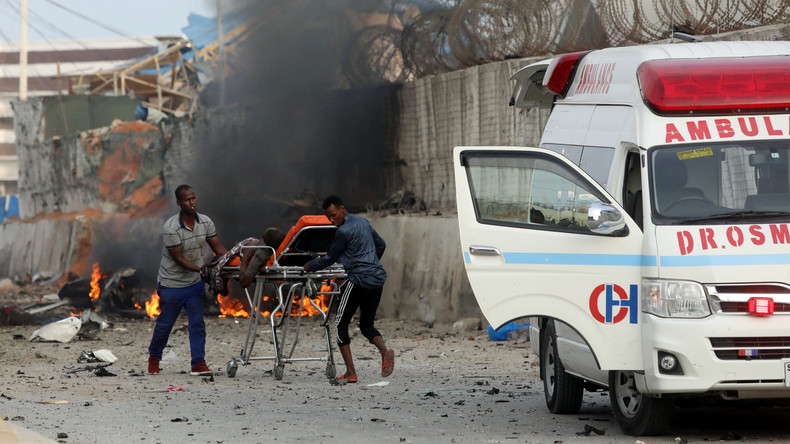 Viele Tote bei zwei Terroranschlägen in Mogadischu
