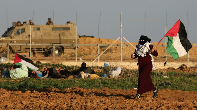 Vier Palästinenser sterben bei Konfrontationen an Gaza-Grenze