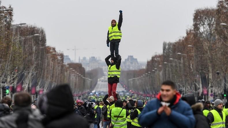 Gelbwesten-Aufstand Akt VI: Erneut schlägt die Polizei zu