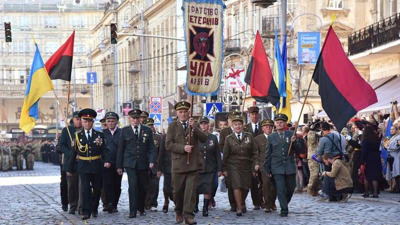 Nazi-Kollaborateure in Ukraine mit Weltkriegsveteranen gleichgesetzt – mit staatlichen Leistungen