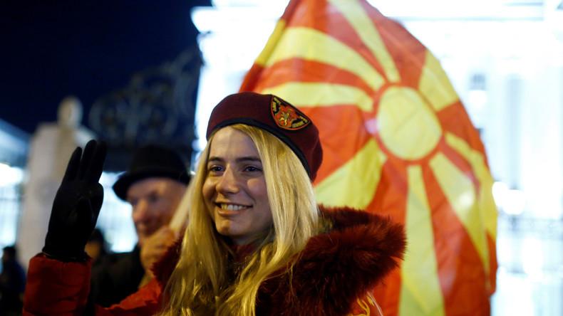 Moskau: USA verwenden antirussische Rhetorik, um Einmischung in Mazedonien zu rechtfertigen