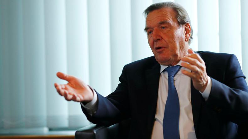 Nord Stream 2: Gerhard Schröder kritisiert USA für Druckausübung auf Deutschland