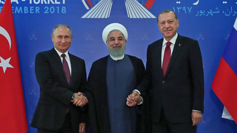 Interview: Russland, Iran und Türkei profitieren vom US-Abzug aus Syrien