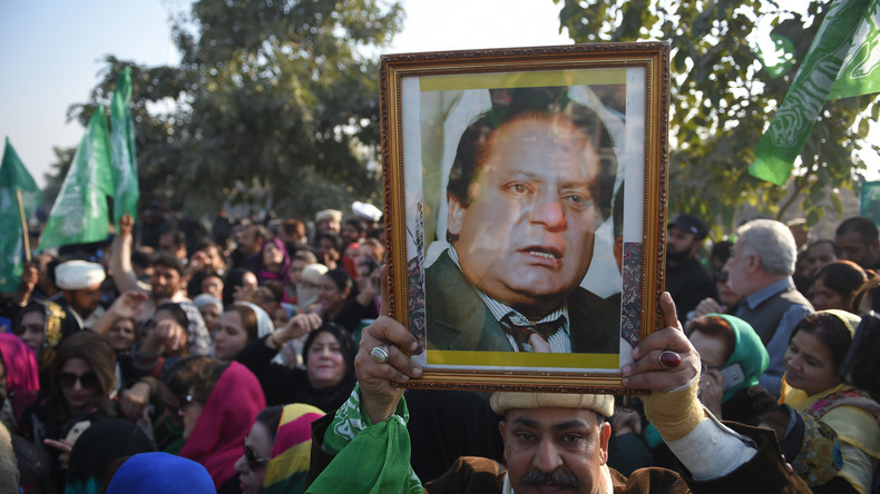 Pakistanischer Ex-Premier Sharif zu sieben Jahren Haft verurteilt