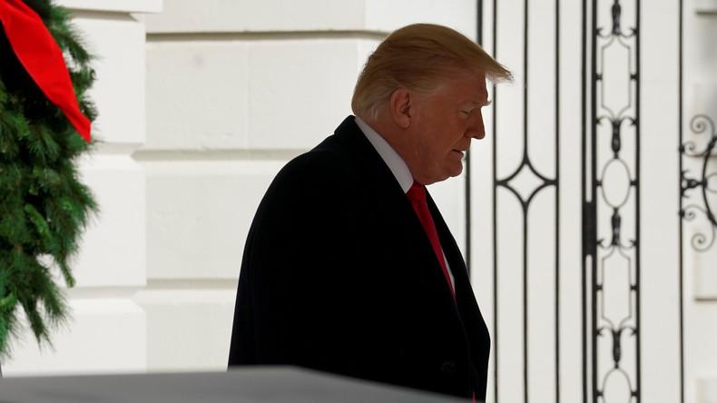 """""""Ich Armer"""": Donald Trump verweilt am Heiligabend ganz allein im Weißen Haus"""