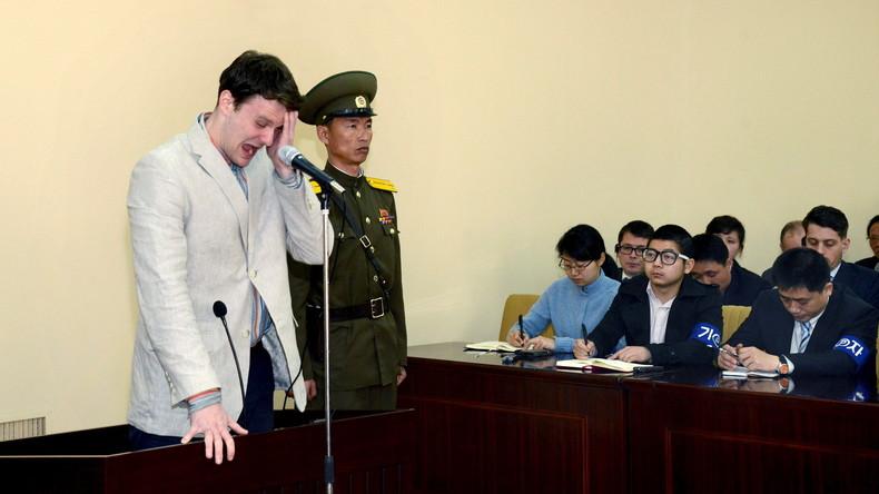 Nach Tod eines US-Studenten: Nordkorea soll 500 Millionen Dollar an Familie des Opfers zahlen
