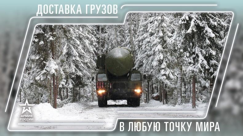 """""""Lieferservice an jeden Punkt der Erde"""": Russisches Verteidigungsministerium bietet Kalender 2019"""