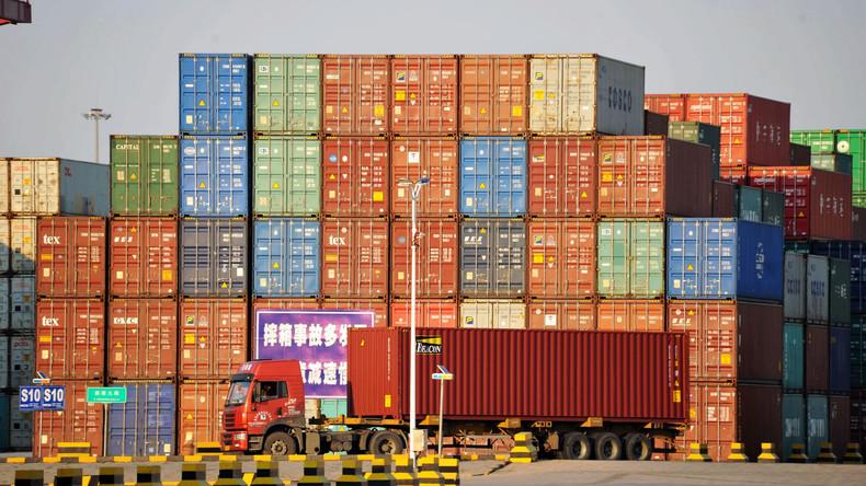 Peking: Chinas Importe werden im Jahr 2018 Gesamtwert von zwei Billionen US-Dollar übersteigen