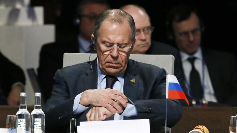 """Russlands Außenminister Sergei Lawrow: """"Für das politische US-Establishment ist Russland ein Objekt"""""""