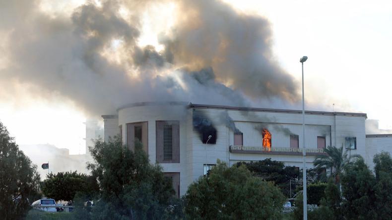 Selbstmordattentäter greifen Außenministerium in Libyen an - fünf Tote