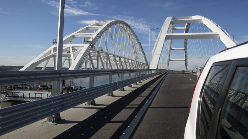 Krim-Brückenbau und Rentenreform: Russen nennen die wichtigsten Ereignisse des Jahres 2018