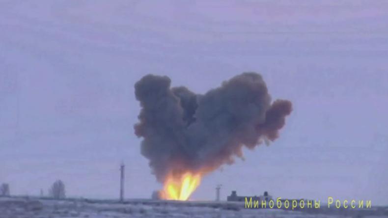 """Weltweit erstes Video von Raketentest mit Hyperschall-Marschgleitkörper """"Avantgarde"""" exklusiv bei RT"""