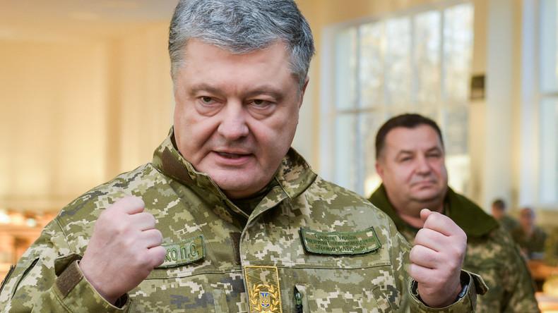 Poroschenko hebt Kriegsrecht in der Ukraine auf