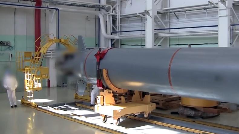 """Russland beginnt Unterwassertests der ersten Atom-U-Drohne """"Poseidon"""""""