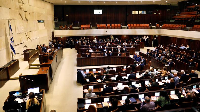 Israels Parlament löst sich auf - Weg für vorzeitige Wahl frei