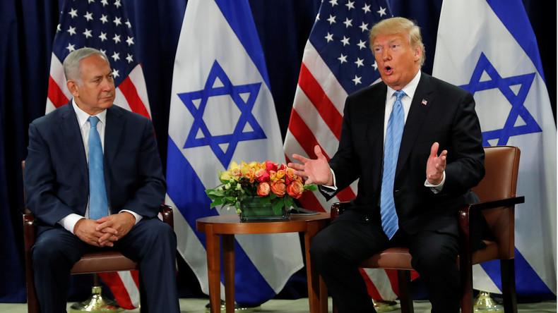 """Trump beruhigt Israel nach Abzug aus Syrien: """"Wir geben euch doch 4,5 Milliarden Dollar pro Jahr"""""""