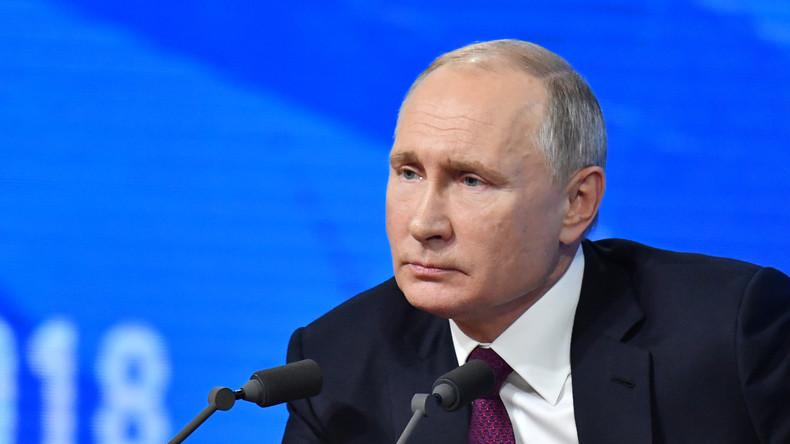 Putin: Mit Sanktionen belegte Unternehmen können auf staatliche Unterstützung vertrauen