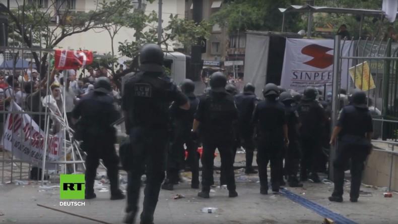 Brasilien: Zusammenstöße bei Protesten gegen Rentenreform in São Paulo