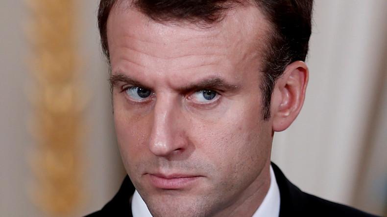Frankreich: Macron traut sich nur noch geschminkt aus dem Haus
