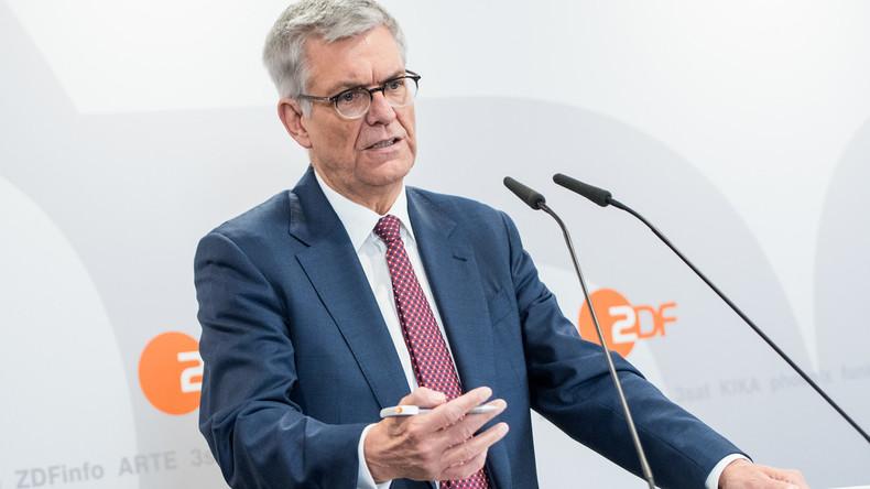 """ZDF-Intendant fordert höheren Rundfunkbeitrag: """"Qualitätsniveau ist sonst nicht zu halten"""""""