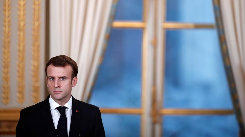 Französische Staatsanwaltschaft ermittelt wegen einer Inszenierung von Emmanuel Macrons Hinrichtung