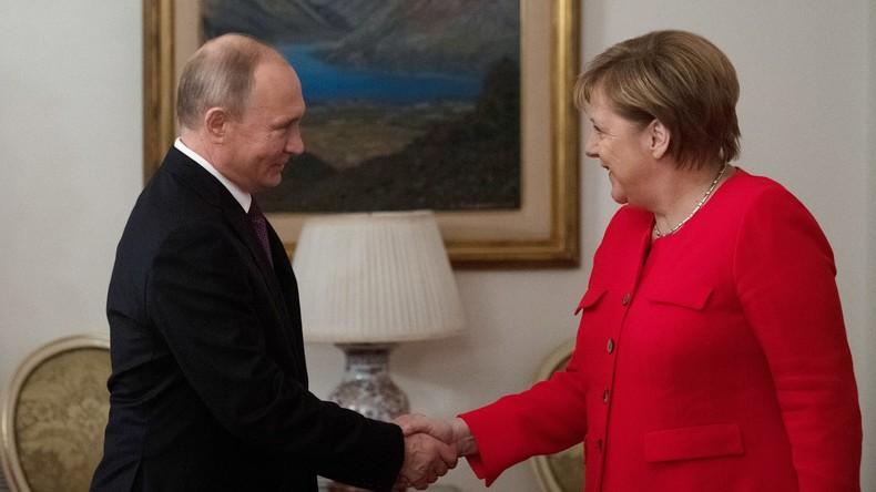 Merkel und Putin sprechen über Syrien und Ukraine-Konflikt