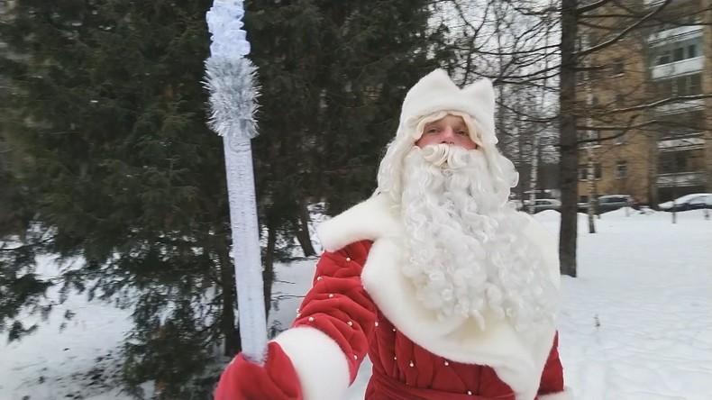 Ein Tag mit Väterchen Frost –  wenn er kommt, ist Santa schon in den Ferien