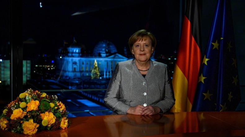 """Merkels Neujahrsansprache: """"Wir ringen um unsere Werte - Offenheit, Toleranz und Respekt"""""""