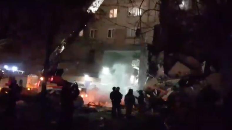 4 Tote und 35 Vermisste nach Gasexplosion in Magnitogorsk