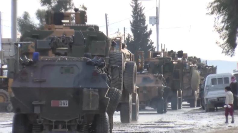 Syrien: Türkische Streitkräfte dringen in Dscharablus ein