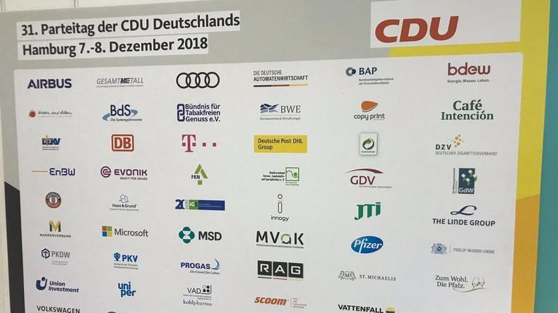 Parteispenden 2018: CDU erhält wieder die meisten Großspenden