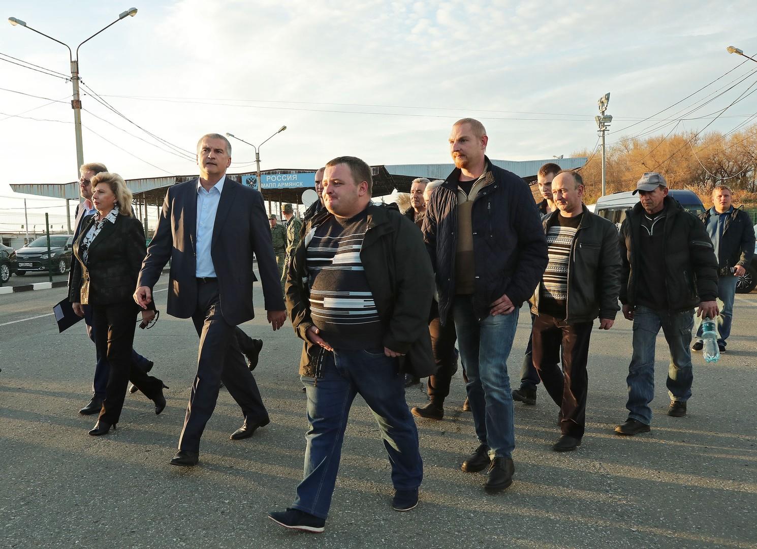 """Wie der Konflikt im Asowschen Meer begann: Die Festsetzung des russischen Fischkutters """"Nord"""""""