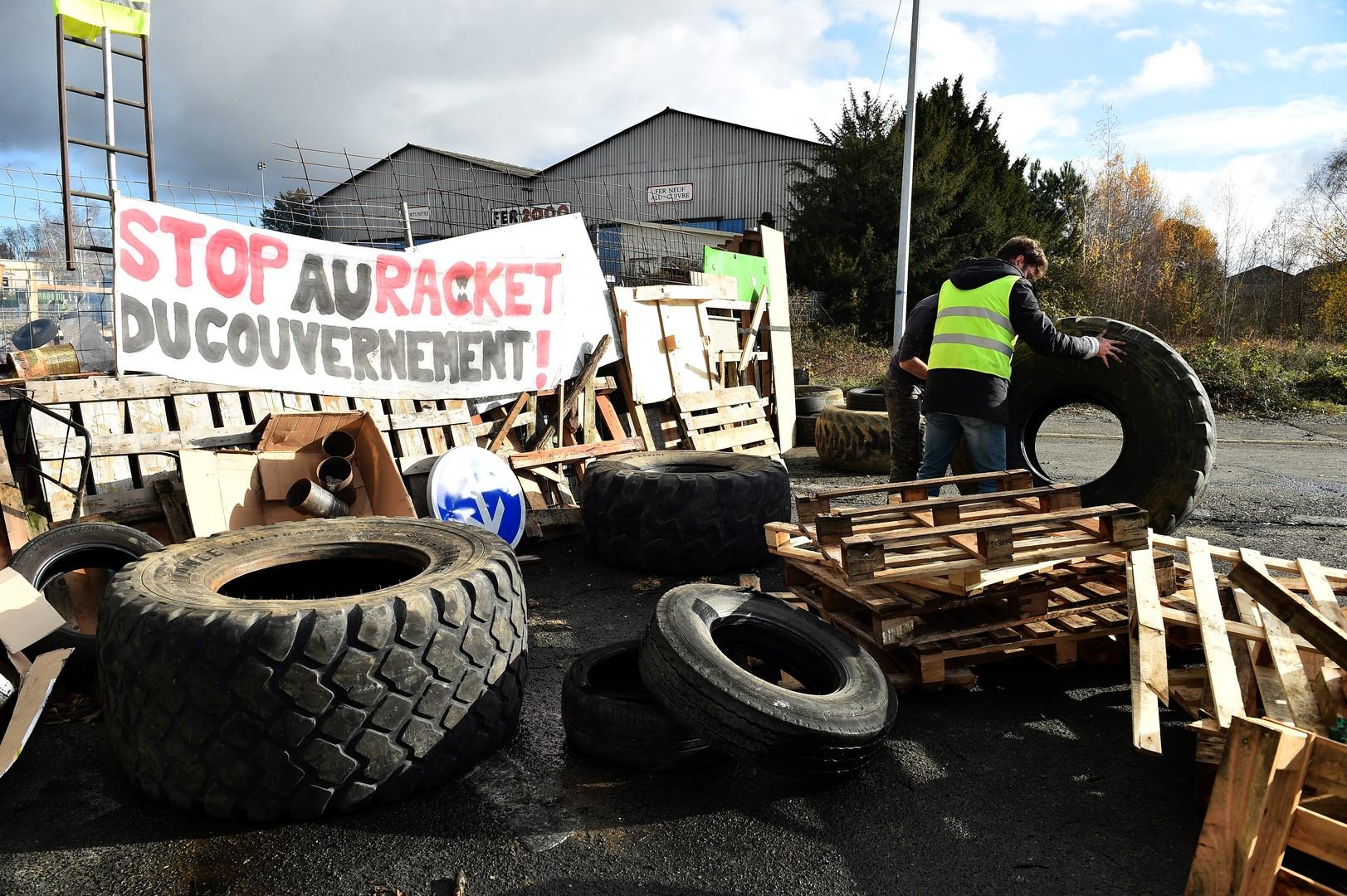"""Es war nur eine Frage der Zeit: """"Russland steckt hinter den Gelbwesten-Protesten in Frankreich"""""""