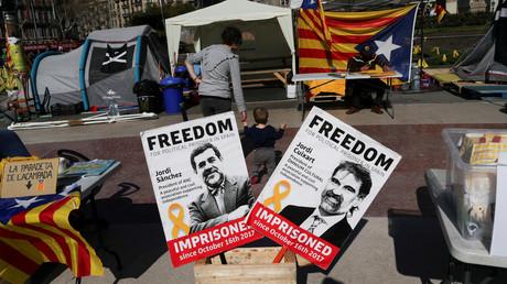 Katalanische Separatisten treten vor Prozess in Hungerstreik (Symbolbild)