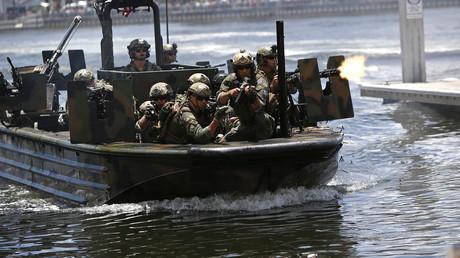 Symbolbild - US-Spezialeinheiten beim Training in Trampa, Florida, Mai 2018