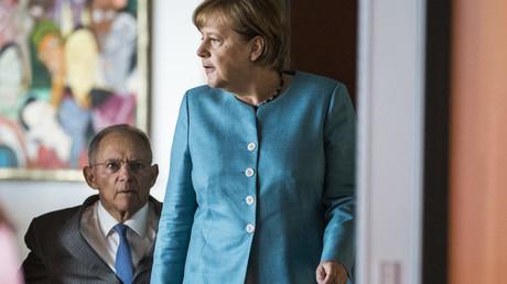 Weggefährten, keine Freunde: Schäuble und Merkel im Juli 2017