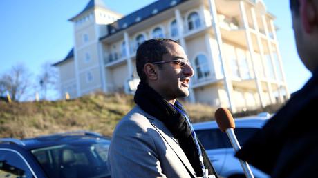 Saelem Mohammed Noman Al-Mughalles, Schloss Johannesberg in Rimbo, Schweden, 5. Dezember 2018.