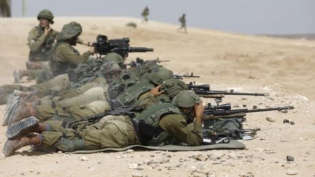 Israelische Soldaten des Bataillons Shimshon (