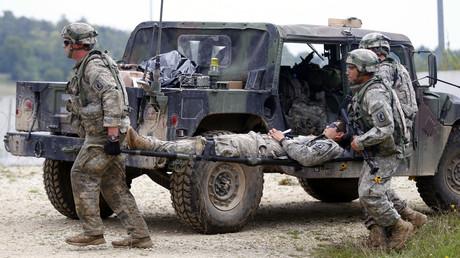 Für Dienstleistungen rund um die Erprobung von Kriegsszenarien gibt es eine starke Nachfrage.