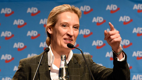 Alice Weidel, AfD-Kongress in Hannover, Deutschland, 3. Dezember 2017.