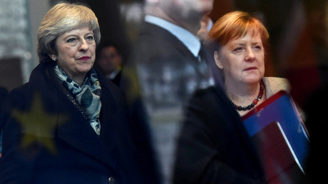 Die britische Premierministerin Theresa May und die deutsche Bundeskanzlerin Angela Merkel trafen sich am 11. Dezember 2018 in Berlin.