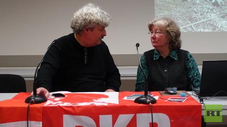 Karin Leukefeld ist eine erfahrene Nahost-Journalistin, die für mehrere deutsche Medien Berichte verfasst.